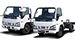 The Isuzu trucks N-series